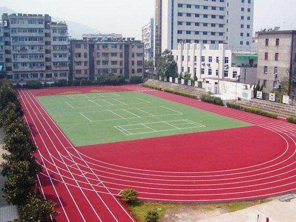 南京塑胶跑道聚氨酯橡