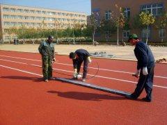 钦南区塑胶跑道施工